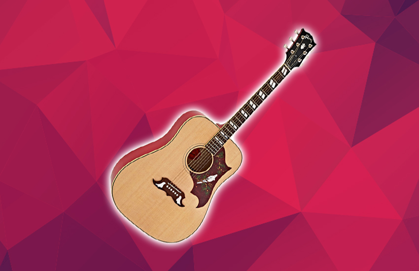 Gibson Dove Review - The Best Looking Acoustic Guitar