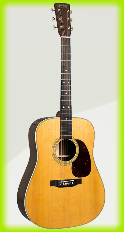 The Martin D28 is considered as one of the best acoustic guitars of all time.
