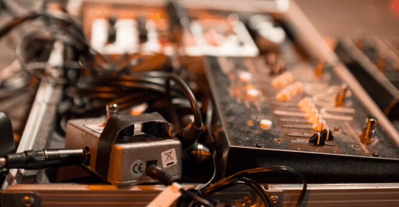 a chorus pedal