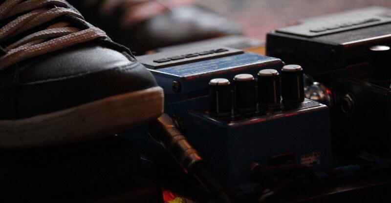 a compressor pedal